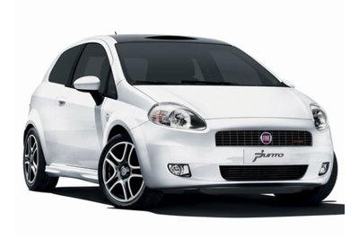 Fiat Punto o similari con clima. 1 Giorno € 50,00, 3 Giorni € 140,00, 7 Giorni € 310,00. Ogni giorno successivo € 40,00.